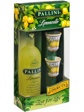 Limoncello Pallini gift pack 50cl.