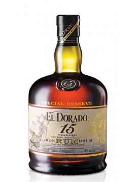 El Dorado Rum 15 Years 70cl. 43°