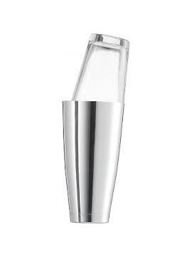 Boston Shaker set rvs + glas 451CC