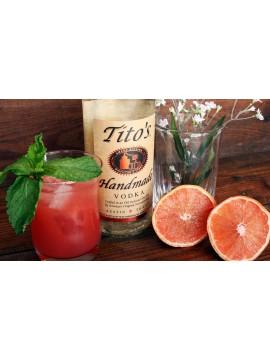 Tito's Handmade Vodka Distilled 6 Times Glutenfree 70cl. 40°