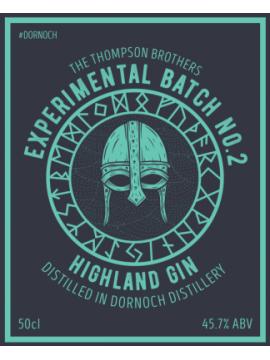 Dornoch Gin Experimental Batch 2 50cl. 45,7°