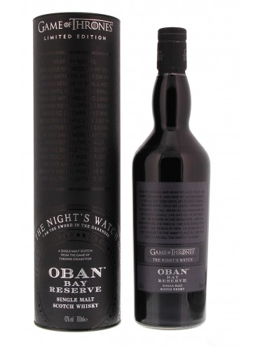 Night Watch & Oban 70cl.