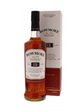 Bowmore 15 Years 70cl. 43°