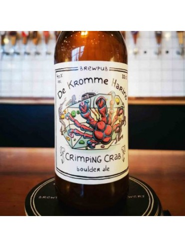 Crimping Crab Boulder Ale 33cl.