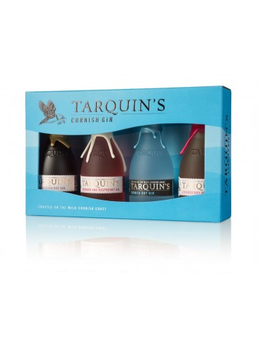 Tarquins mixed mini set 4x5cl. Giftpack