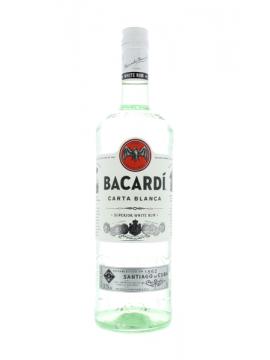 Bacardi Carta Blanca Rum 100cl. 37.5°