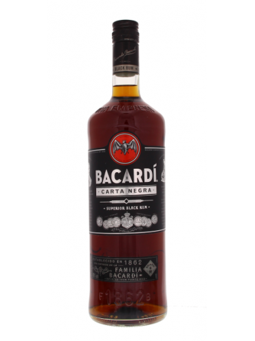 Bacardi Carta Negra Rum 100cl. 37.5°