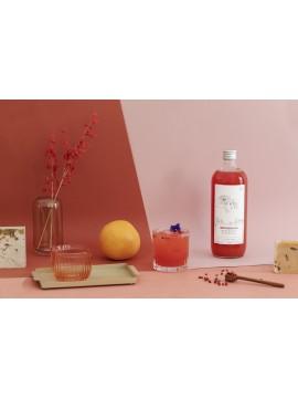 Roze pompelmoes & Vanille Mocktail 1 liter