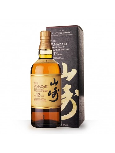 Yamazaki Single Malt 12 years 70cl.