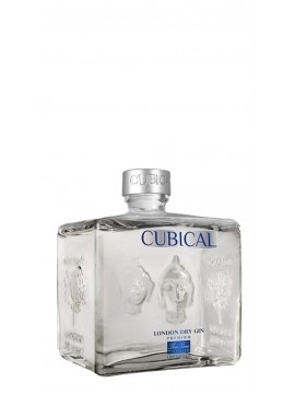 Cubical Premium London Dry Gin 70cl. 40°