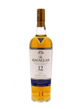 Macallan 12 Years Double Cask Single Malt whisky 70cl.