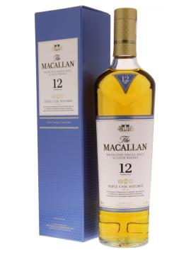 Macallan 12 Years Triple Cask Single Malt whisky 70cl.