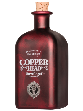 Copperhead Barrel Aged Gin 50cl. 46°