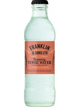 Franklin's Rosemary Tonic Black Olive 20cl.