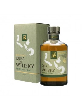 Kura The Whisky Rum cask finish 70cl.