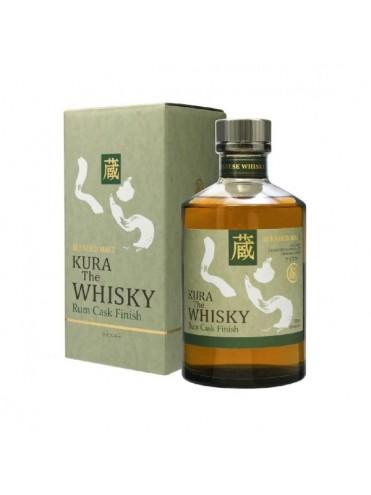 Kura The Whisky Rum cask finish 70cl.