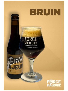 Force Majeure Bruin 33cl.