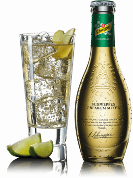 Schweppes Premium Mixer Ginger Ale 20cl.