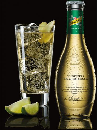 Schweppes Premium Mixer Ginger Ale 20cl.