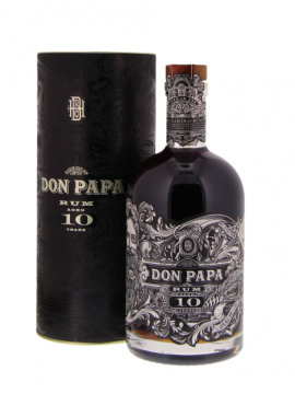 DON PAPA 10 YEARS RUM 70CL. 40°