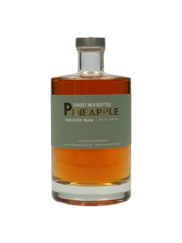 Ghost in a bottle Pineapple infused rum 70cl. 40°