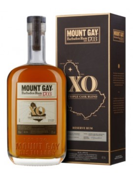 Mount Gay XO Triple Cask Blend Rum 70cl. 43°