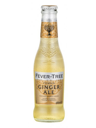 Fever Tree Ginger Ale 20cl. glas