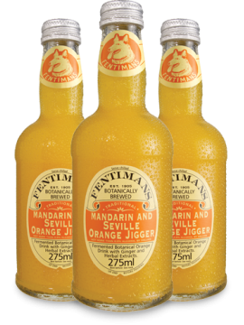 Fentimans Mandarin & Seville Orange Jigger 275 ml.