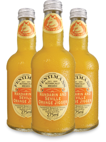 Fentimans Mandarin & Seville Orange Jigger 6x275 ml.