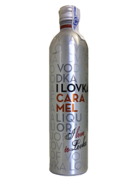 I Lovka Vodka Caramel 70cl.