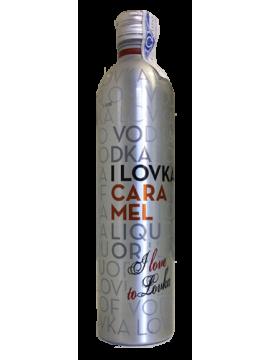 I Lovka Vodka Caramel 70cl.
