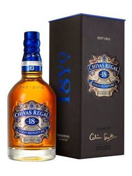 Chivas Regal 18 Years 70cl. 40°