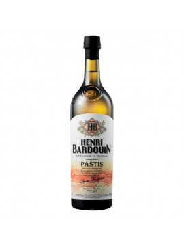 Pastis Henry Barduin 70CL. 45°