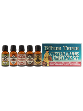 The Bitter Truth Traveler's set tin 5x20ml. 38,2°