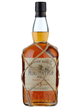 Plantation Rum Barbados Grande Réserve 5 years 70cl. 40°