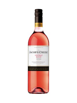 Jacob's Creek Shiraz rosé 75cl.