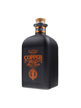 Copperhead Black Batch Gin 50cl. 40°