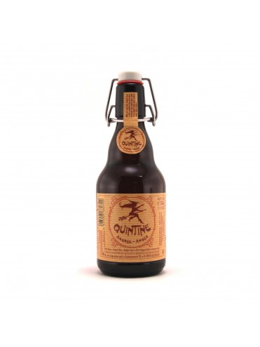 Quintine amber 33cl.