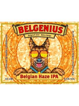 Belgenius Belgian Haze IPA 33cl.