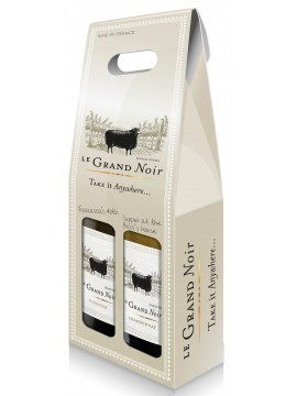 Le Grand Noir etui 2 flessen